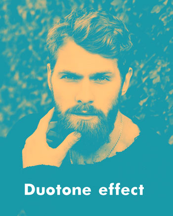 How to create duotone effect in Adobe Photoshop