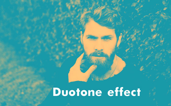 Duotone effect final work