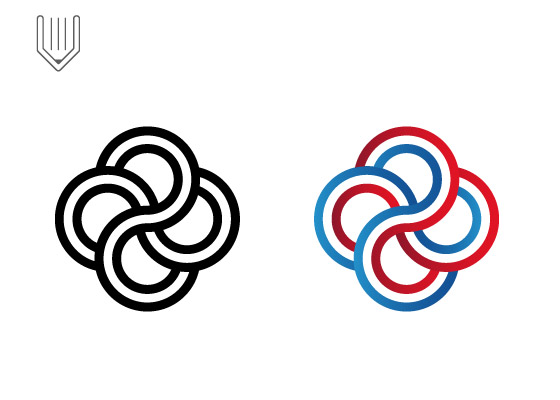 How to design professional knot logo
