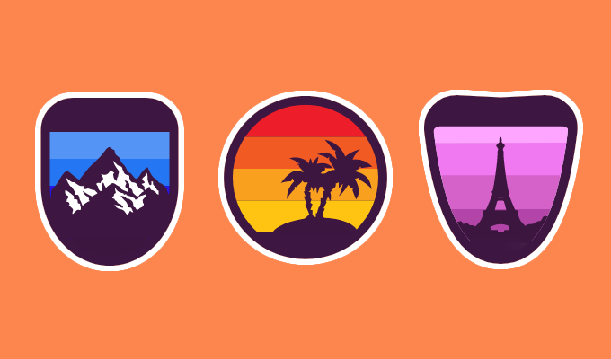 Gravit Design Badges