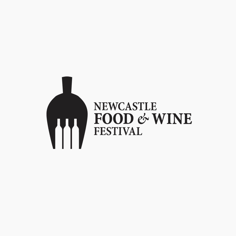 Newcastle food and wine festiwval by just creative