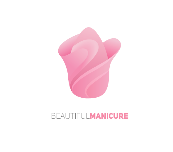 Beautiful manicure Logo Design