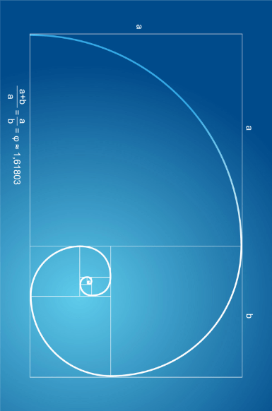 Golden mean in Gravit
