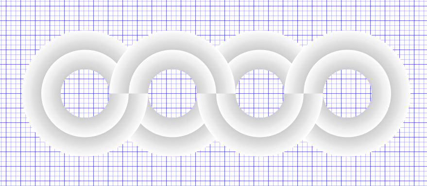 Create circles from waves