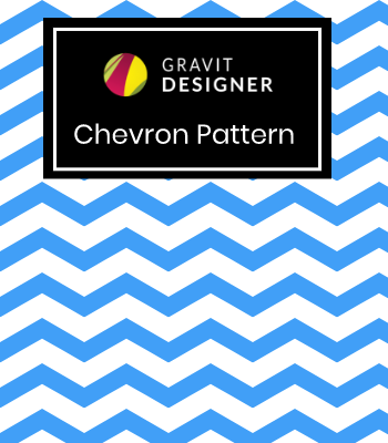 Chevron Pattern in Gravit