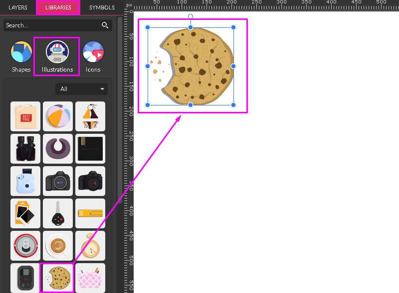 Cookie from Gravit Designer Library