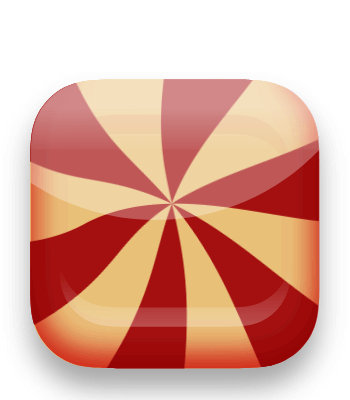 Cand App icon design in Gravit